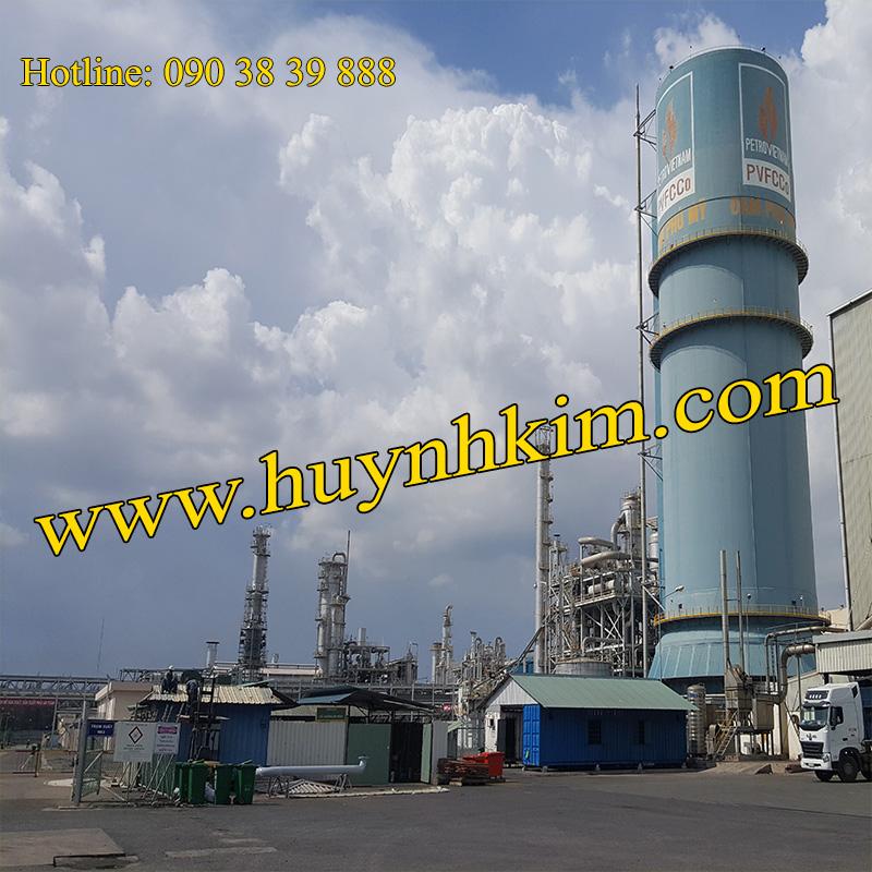 Nhà máy sản xuất CO2 - Đạm Phú Mỹ