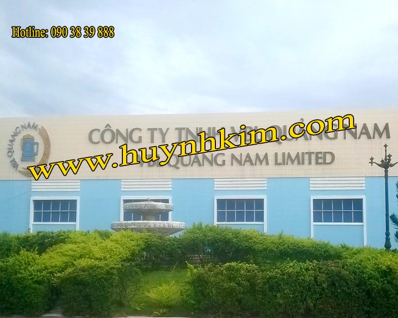 Nhà máy Bia VBL Quảng Nam