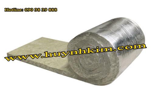 Cách nhiệt Rockwool dạng cuộn có giấy bạc - CN108