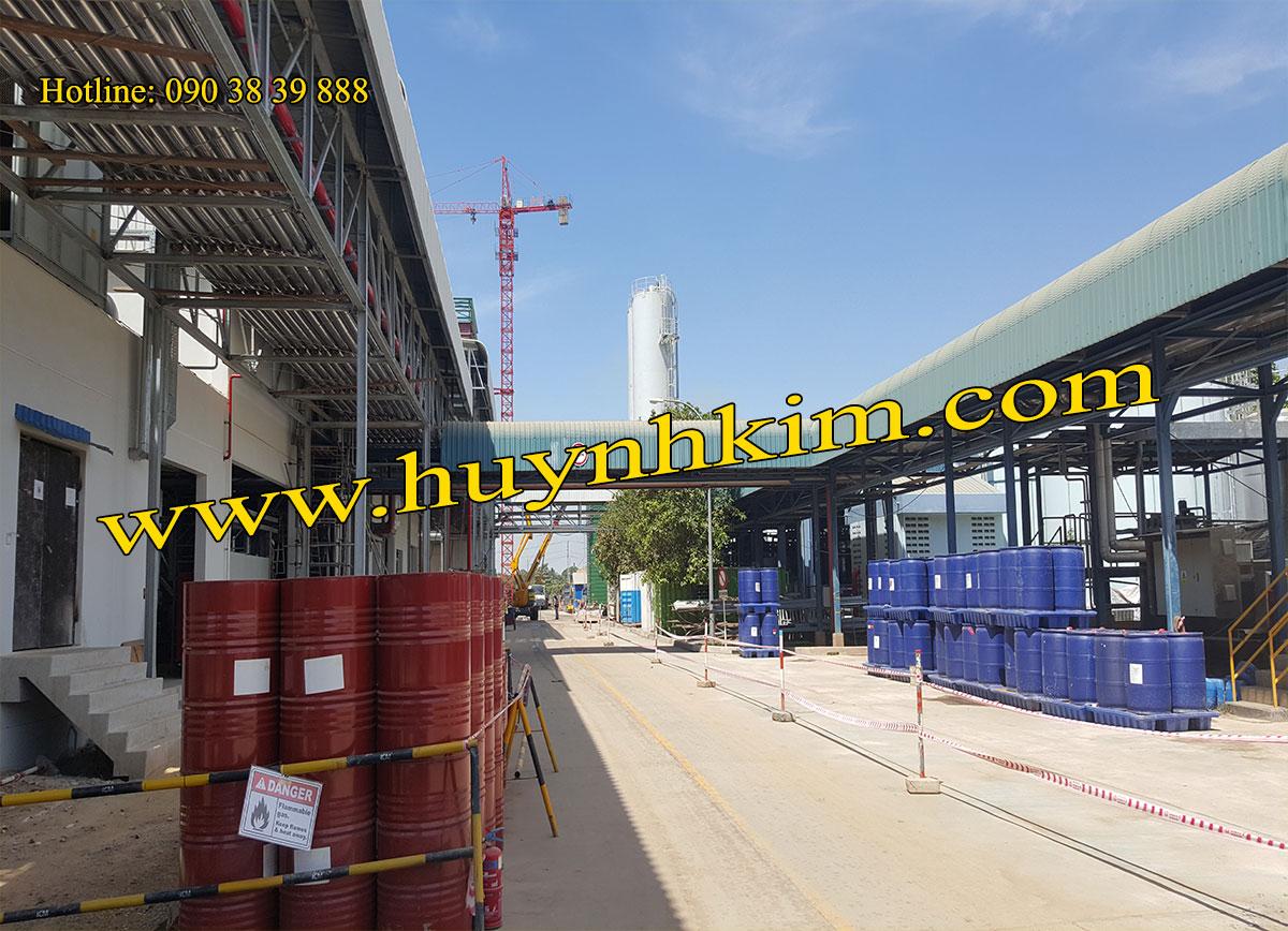 Hóa chất PU foam tại công trình