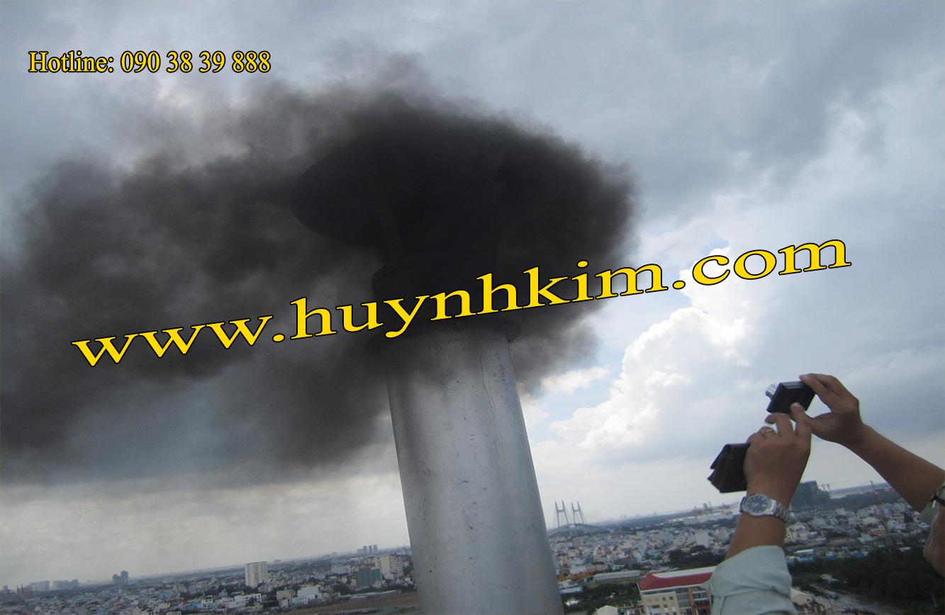 Ống khói máy phát điện